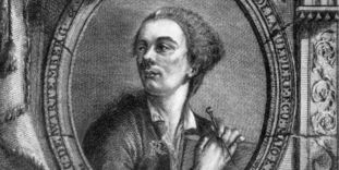 Philippe de La Guêpière, Projets d'architecture, Frontispiz