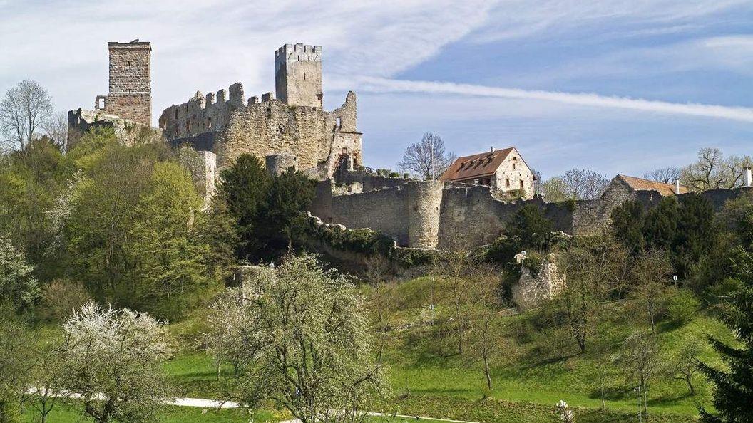 Burg Rötteln, Außenansicht