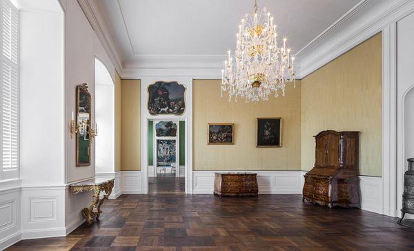 Schloss Bruchsal, Beletage, Winterspeisezimmer