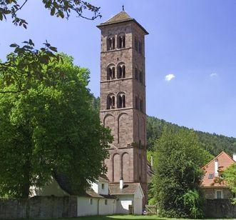 Eulenturm im Kloster Hirsau; Foto: Staatliche Schlösser und Gärten Baden-Württemberg, Andrea Rachele