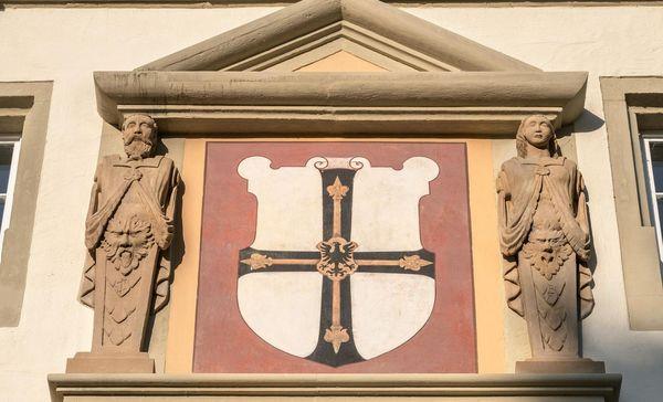 Residenzschloss Mergentheim, Wappen