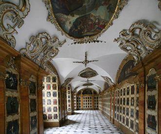 Deckengemälde im Ordenssaal von Kloster Schöntal; Foto: Foto Besserer