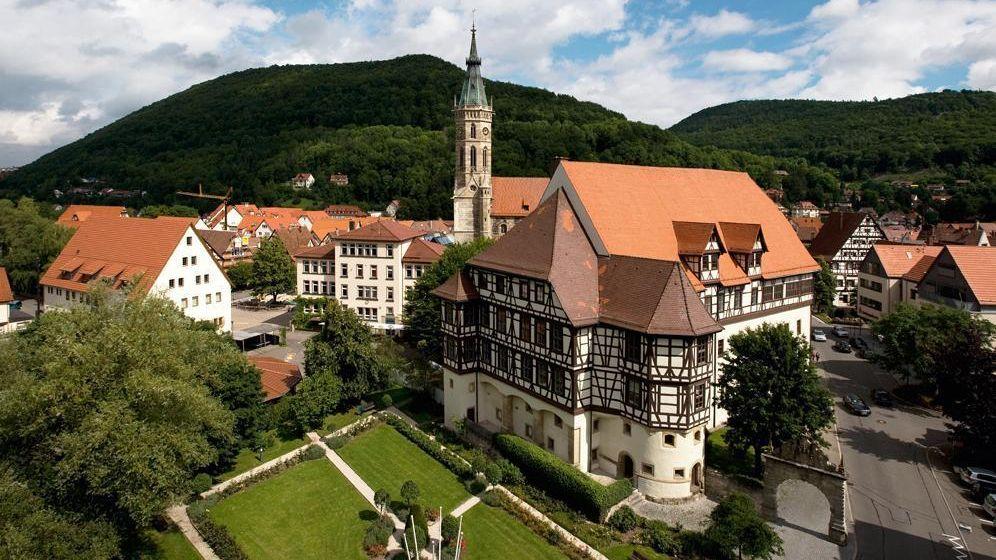 Residenzschloss Urach, Außenansicht; Foto: Staatliche Schlösser und Gärten Baden-Württemberg, Achim Mende