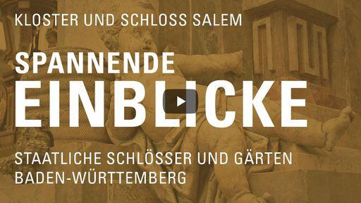 """Startbildschirm des Films """"Spannende Einblicke mit Michael Hörrmann: Kloster und Schloss Salem"""""""