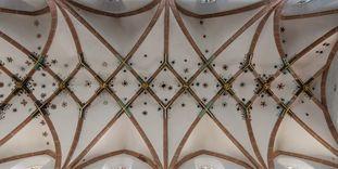 Netzgewölbe in der Klosterkirche von Kloster Maulbronn