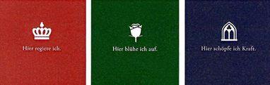 Motive der neuen Liegestühle der Staatlichen Schlösser und Gärten Baden-Württemberg; Design: Staatliche Schlösser und Gärten Baden-Württemberg, JUNG:Kommunikation