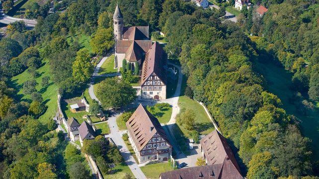 Kloster Lorch, Luftaufnahme