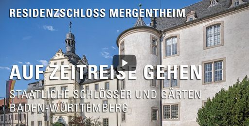"""Startbildschirm des Films """"Auf Zeitreise gehen: Residenzschloss Mergentheim"""""""
