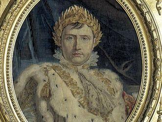 Residenzschloss Ludwigsburg, Napoleon Bonaparte, Gobelin um 1809