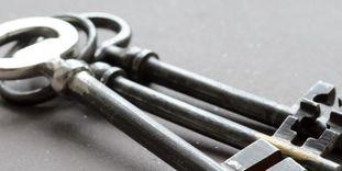 Ihr Schlüssel zu unseren Räumen