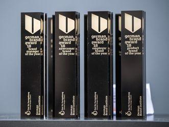 German Brand Award, Trophäen aus dem Jahr 2018