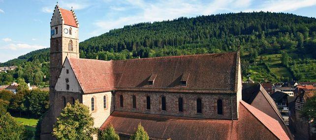 Luftaufnahme von Kloster Alpirsbach