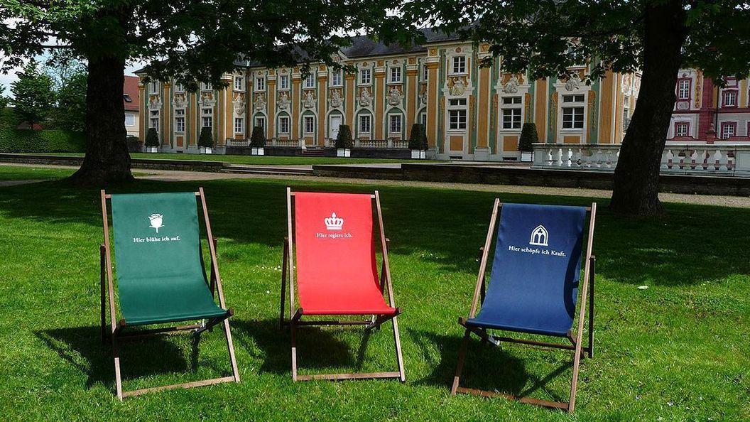 Die neuen Liegestühle der Staatlichen Schlösser und Gärten