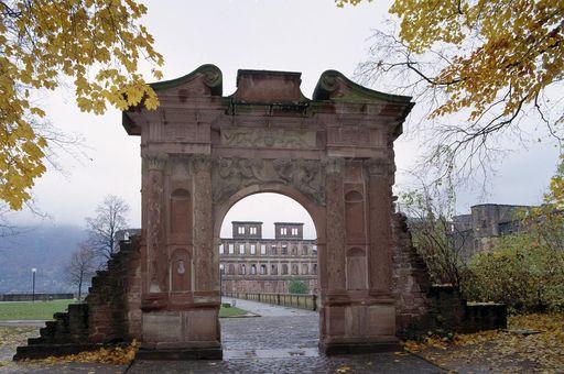 Elisabethentor von Schloss Heidelberg