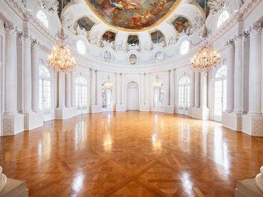 Schloss Solitude, der weiße Saal