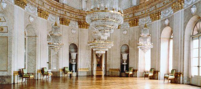 Residenzschloss Ludwigsburg, Neuer Hauptbau, Marmorsaal