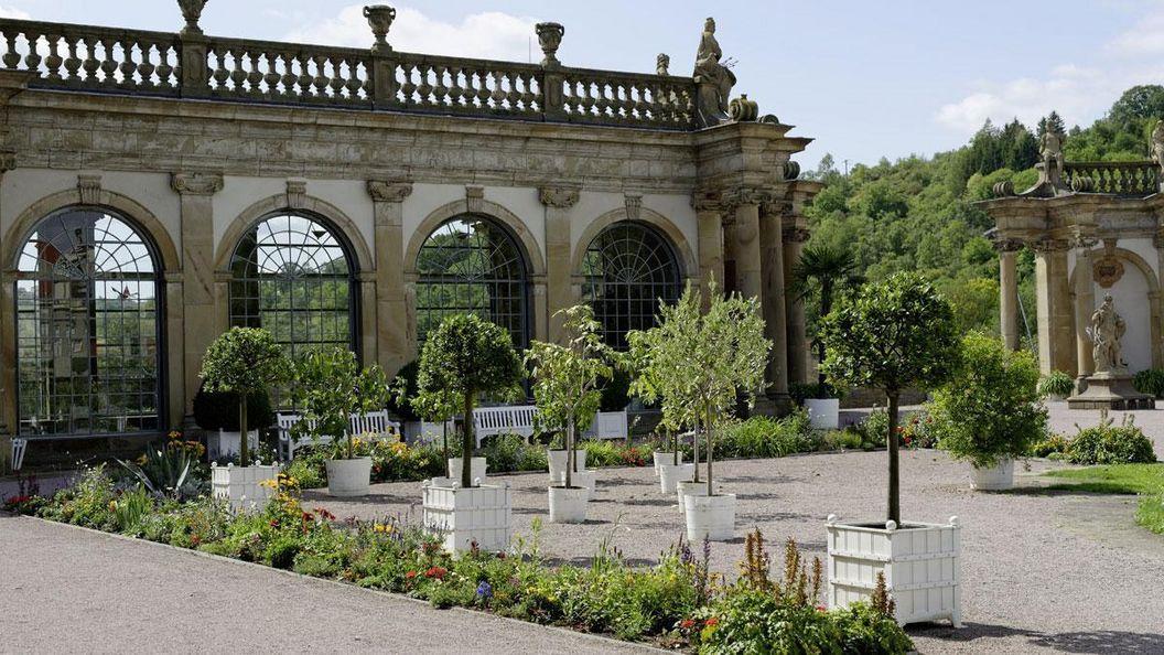 Orangerie im Schlossgarten Weikersheim