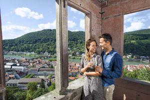 Schloss Heidelberg, Besucher