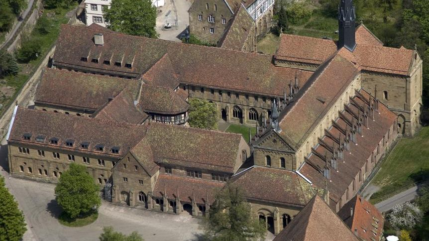 Kloster Maulbronn, Luftansicht Klausur