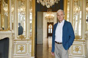 Walter Sittler im Schloss Solitude