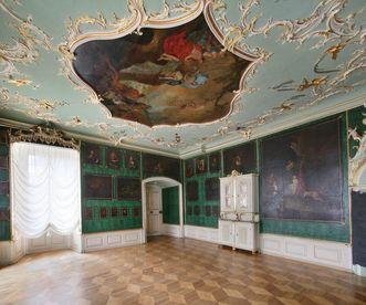 Kloster Schöntal, Innen, Abtszimmer