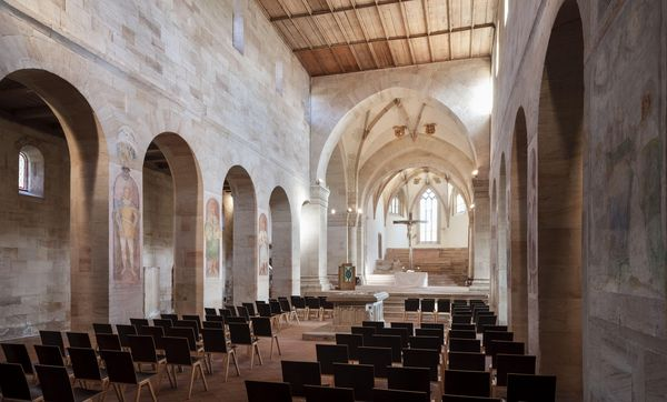 Kloster Lorch, Mittelschiff der Klosterkirche; Foto: Staatliche Schlösser und Gärten Baden-Württemberg, Günther Bayerl