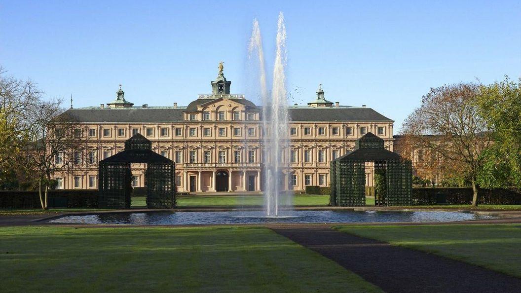 Residenzschloss Rastatt, Außenansicht