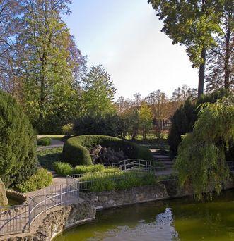 Schlossgarten Bruchsal;  Foto: Staatliche Schlösser und Gärten Baden-Württemberg, Arnim Weischer