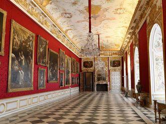 Die Große Galerie im Neuen Schloss Schlessheim