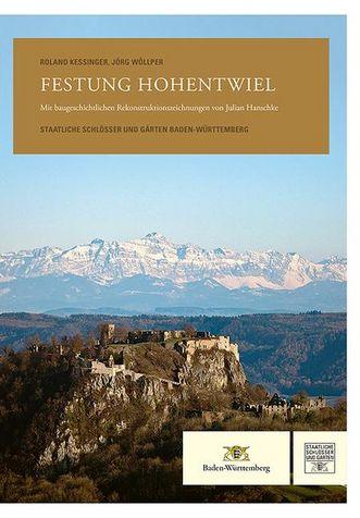 """Titel der Publikation """"Festung Hohentwiel"""""""