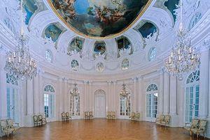 Schloss Solitude, Weißer Saal; Foto: Staatliche Schlösser und Gärten Baden-Württemberg, Andrea Rachele