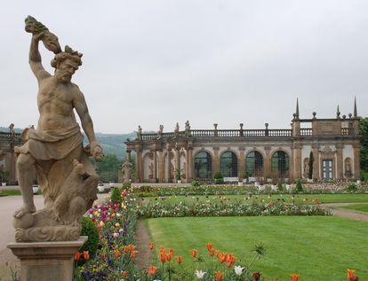 Blick zur Orangerie; Foto: Staatsanzeiger für Baden-Württemberg, Barbara Erbsen-Haim