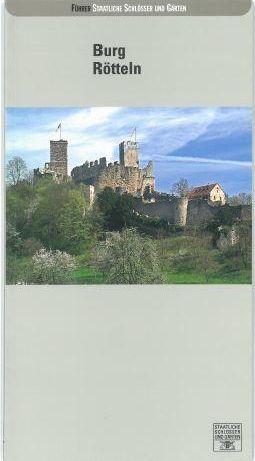 """Deckblatt Kunstführer """"Burg Rötteln"""""""