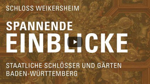"""Startbildschirm des Films """"Spannende Einblicke mit Michael Hörrmann: Schloss Weikersheim"""""""