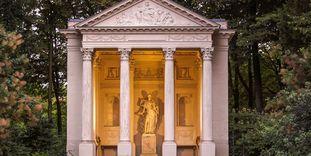 Minervatempel im Schlossgarten Schwetzingen