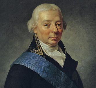 Bildnis Großherzog Karl Friedrich von Baden um 1790