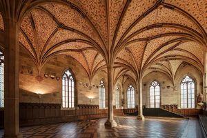 Kloster und Schloss Bebenhausen, Sommerrefektorium; Foto: Staatliche Schlösser und Gärten Baden-Württemberg, Günther Bayerl