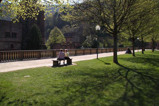 Stückgarten von Schloss Heidelberg
