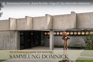 Sammlung Domnick, Werbemotiv