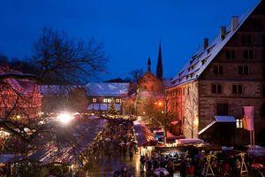 Kloster Maulbronn, Weihnachtsmarkt; Foto: Staatliche Schlösser und Gärten Baden-Württemberg, Achim Mende