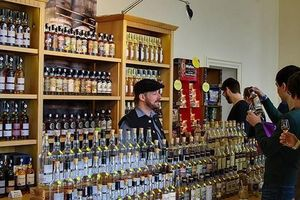 Whisky-Spring in Schloss Schwetzingen, Foto: Joachim Seidel