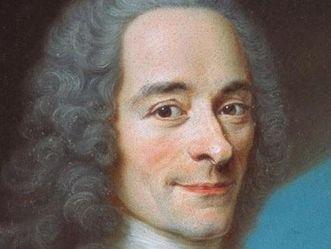 Porträt Voltaires, Maurice Quentin de La Tour um 1736