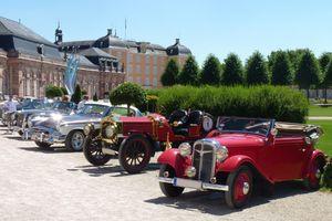 International Concours d'Elegance in Schloss Schwetzingen