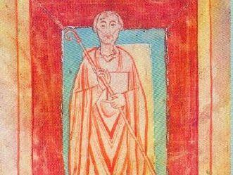 Miniatur des Abts Wilhelm von Hirsau, Schenkungsverzeichnis des Klosters Reichenau, um 1150; Foto: Wikimedia Commons, Urheber unbekannt