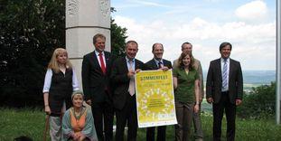Hohenstaufen, rencontre avec la presse à l'occasion de la fête d'été