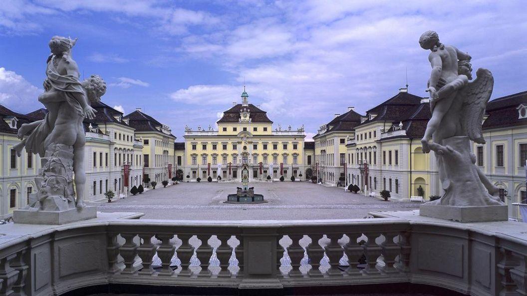 Residenzschloss Ludwigsburg, Außenansicht