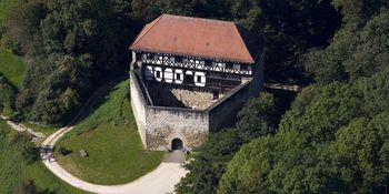 Burg Wäscherschloss von oben