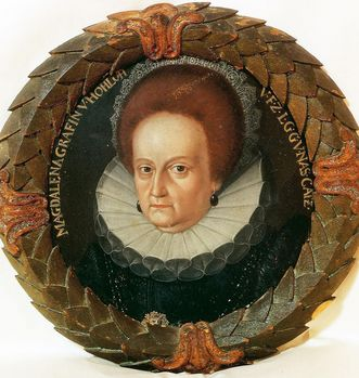 Portrait von Magdalena von Nassau-Katzenelnbogen; Foto: Hohenlohe Zentralarchiv