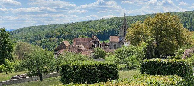 Kloster und Schloss Bebenhausen, Blick auf die Klosteranlage
