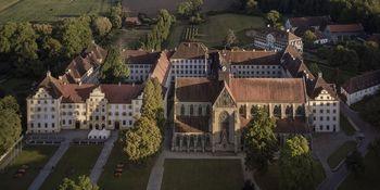 Kloster und Schloss Salem von oben